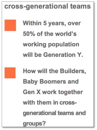 Cross Generational Teams
