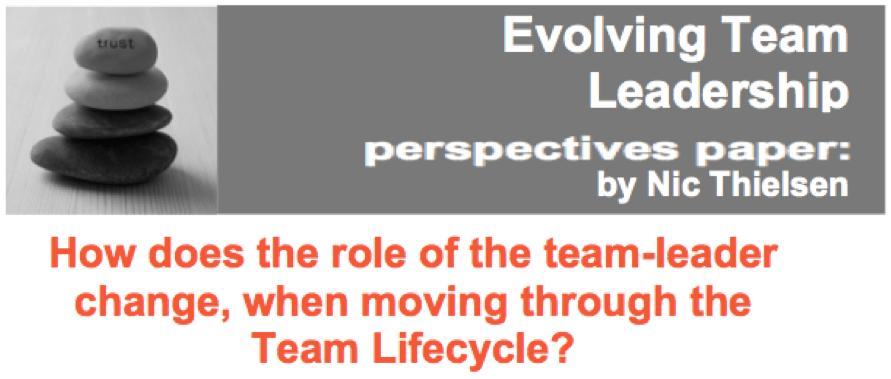 Evolving Team Leadership
